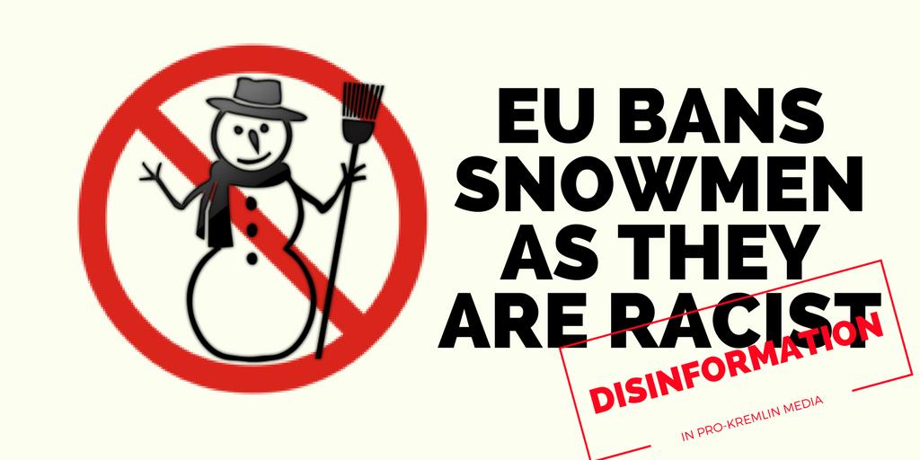Snowmen are racist