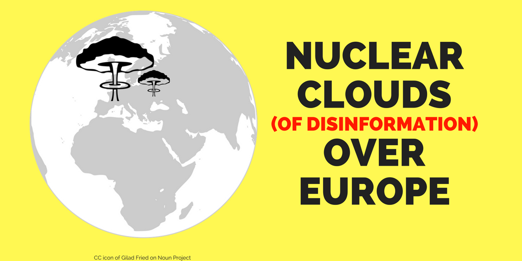 Europe threatened by nuclear cloud