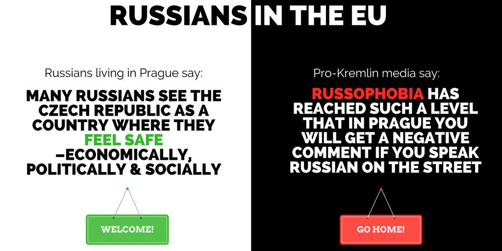 Russians leaving the EU in droves?