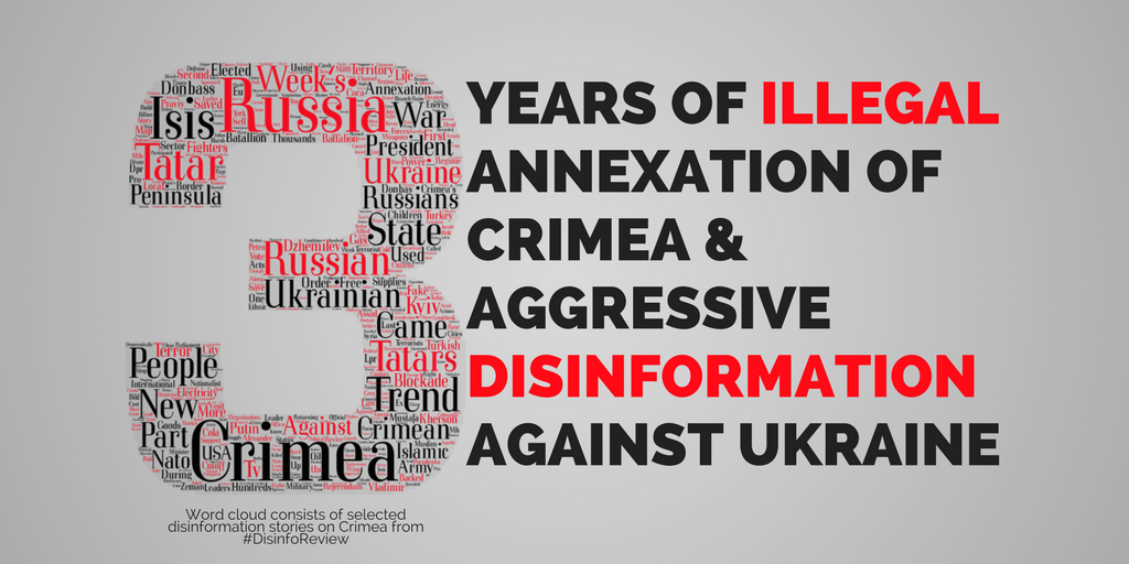 Ukraine: Crimea three years on