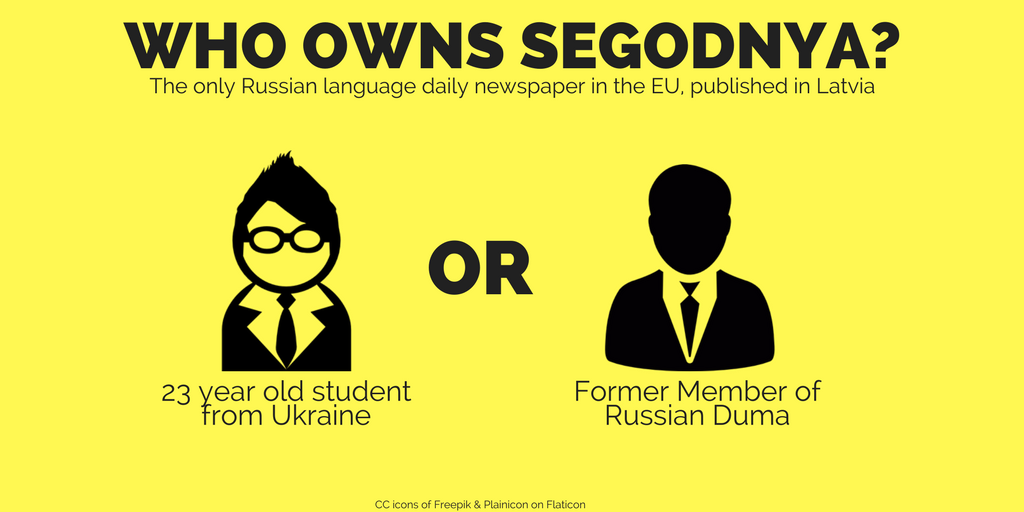 The only Russian language daily newspaper in the EU