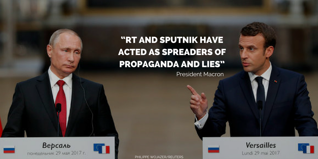 """RT and Sputnik have acted as spreaders of propaganda and lies"""