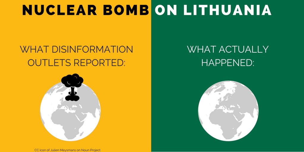 Atombombe über Litauen?