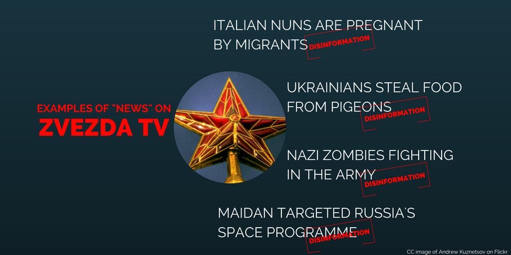 Dependent media – Russia's military TV Zvezda