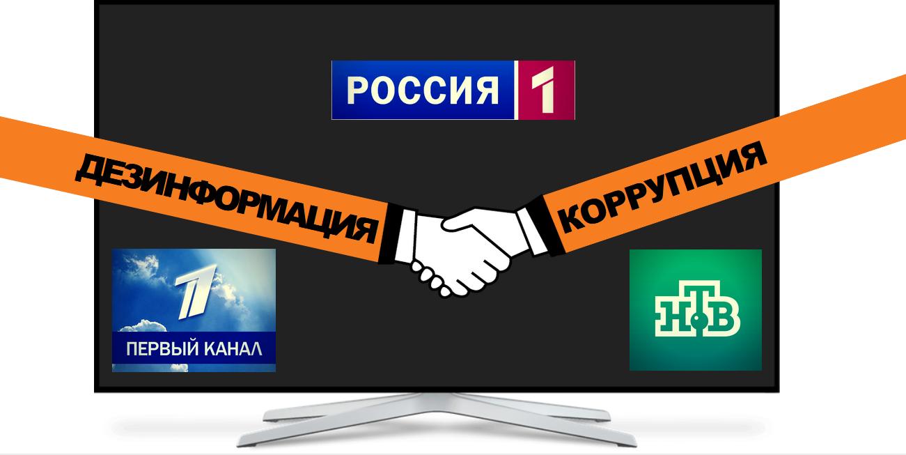 Коррупция и дезинформация: за кулисами российского телевидения