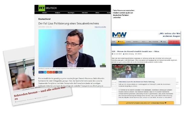 SonntagsZeitung: Russlands langer Propaganda-Arm