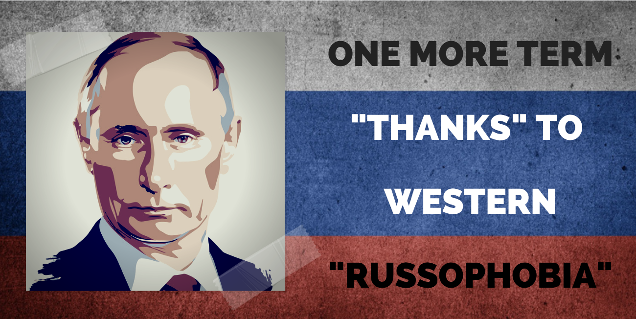 The West Is to Blame for Putin as President!