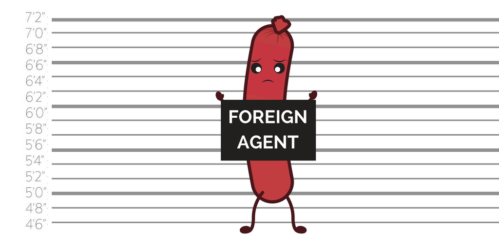 Foreign agent food