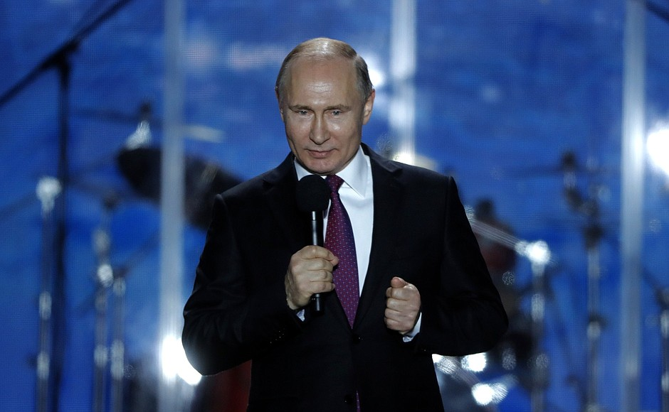 War, Peace and Crimea: Russian State Propaganda During the Presidential Election