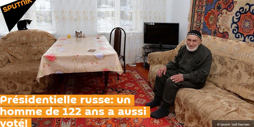 Самому пожилому российскому избирателю 122 года?