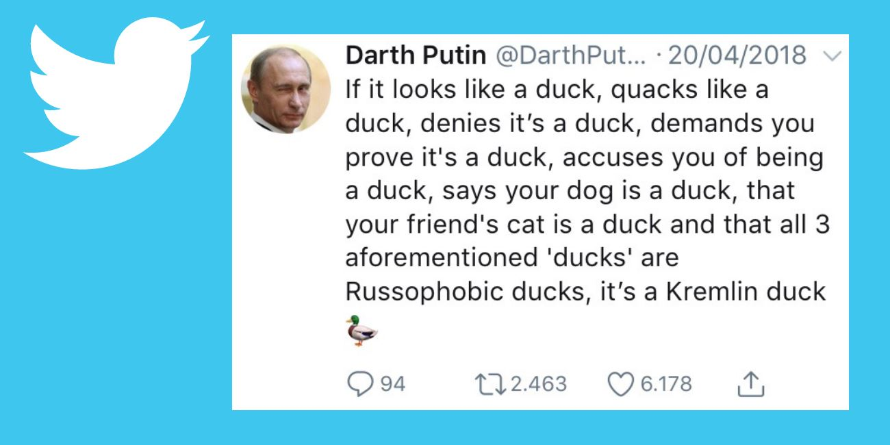 Who is Darth Putin?