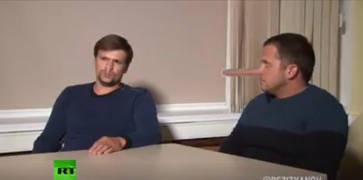Russians Ridicule RT Interview with Salisbury Suspects