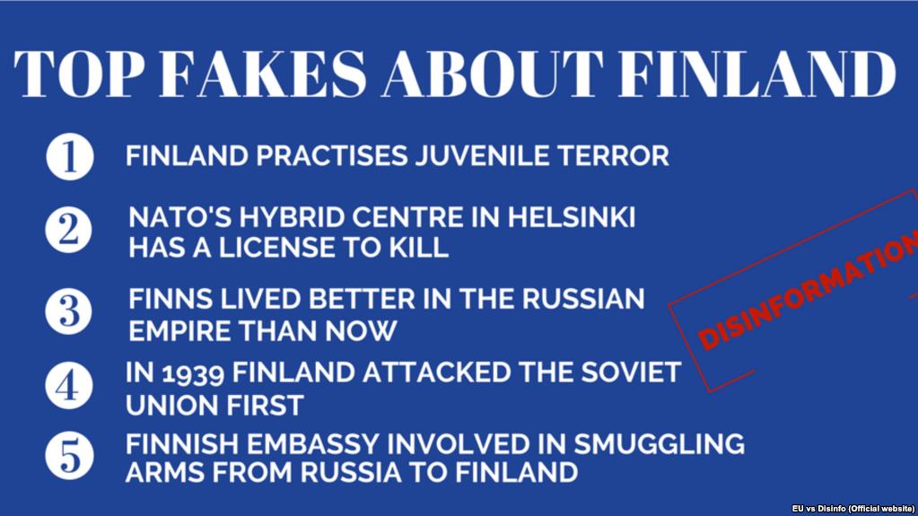 Радіо Свобода: Дезінформація Росії про Фінляндію. Аналіз від East Stratcom