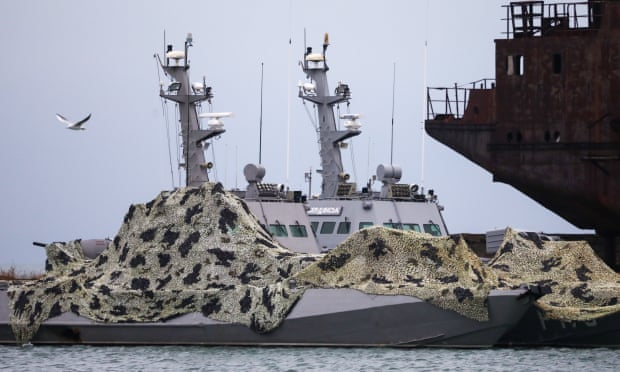 The Guardian: Russia 'paved way for Ukraine ship seizures with fake news drive'