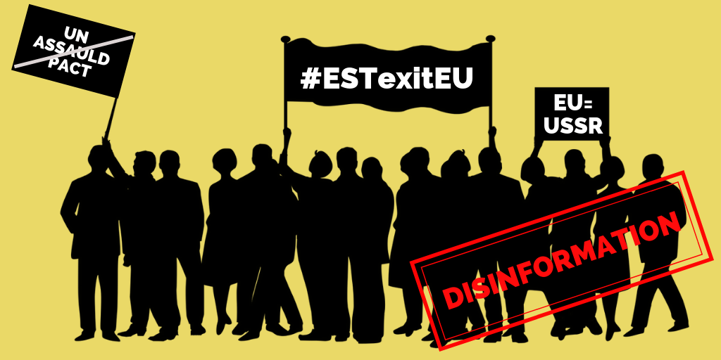 Manipulation And Disinformation In Social Media: The Case Of Estonia And #ESTexitEU