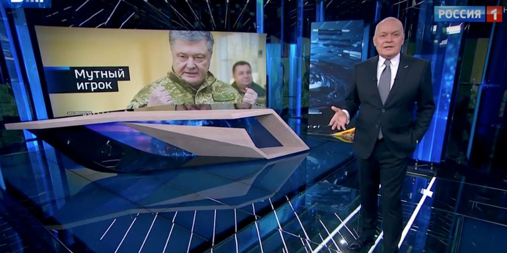 Украина под информационным огнем