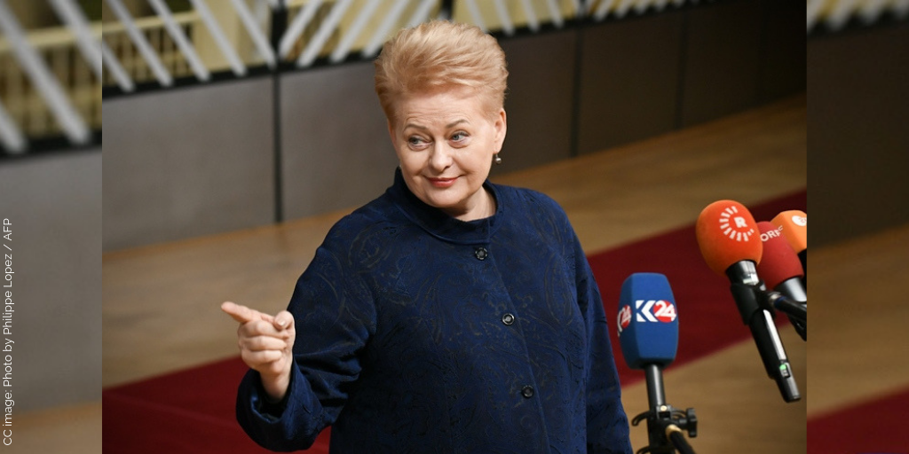 How Come a Russian Military Pundit is Obsessed with the President of Lithuania?
