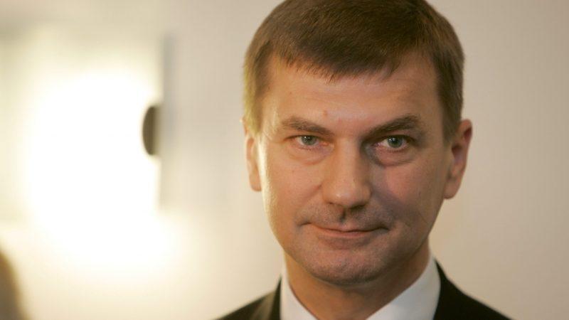 Euractiv: Andrus Ansip, le discret commissaire estonien se représente aux européennes