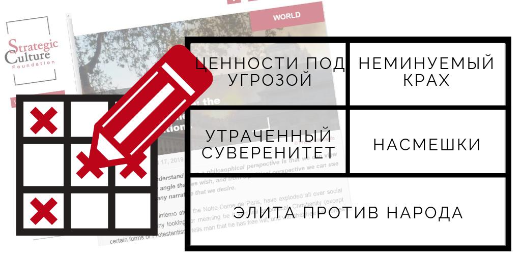 Стратегическое русское лото
