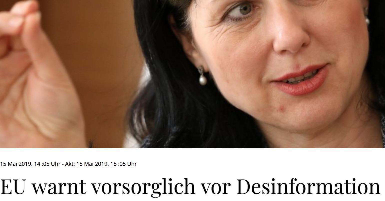 Tageblatt: EU warnt vorsorglich vor Desinformation – Bislang keine Spuren von Einmischungen von außen