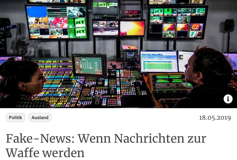 Kurier: Fake-News: Wenn Nachrichten zur Waffe werden