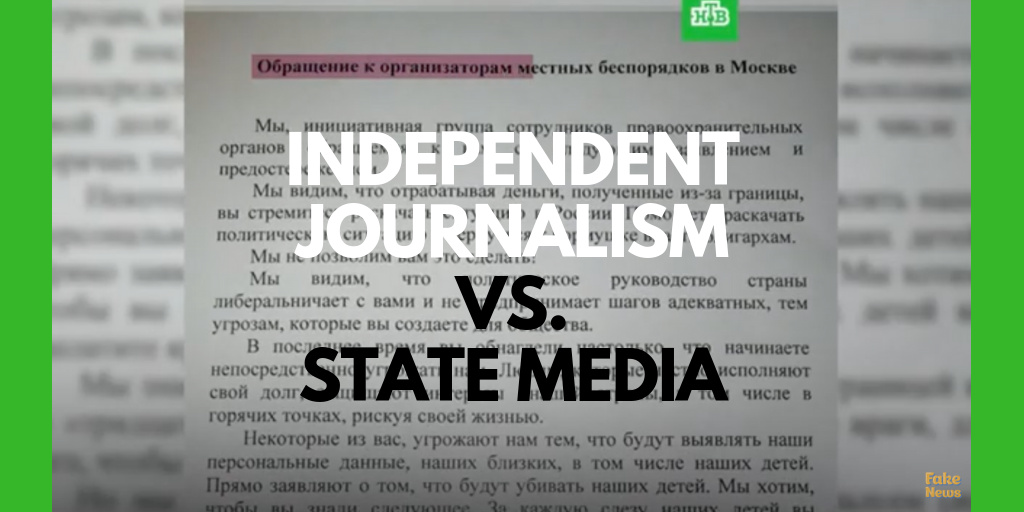 Journalistic Protests Against Disinformation
