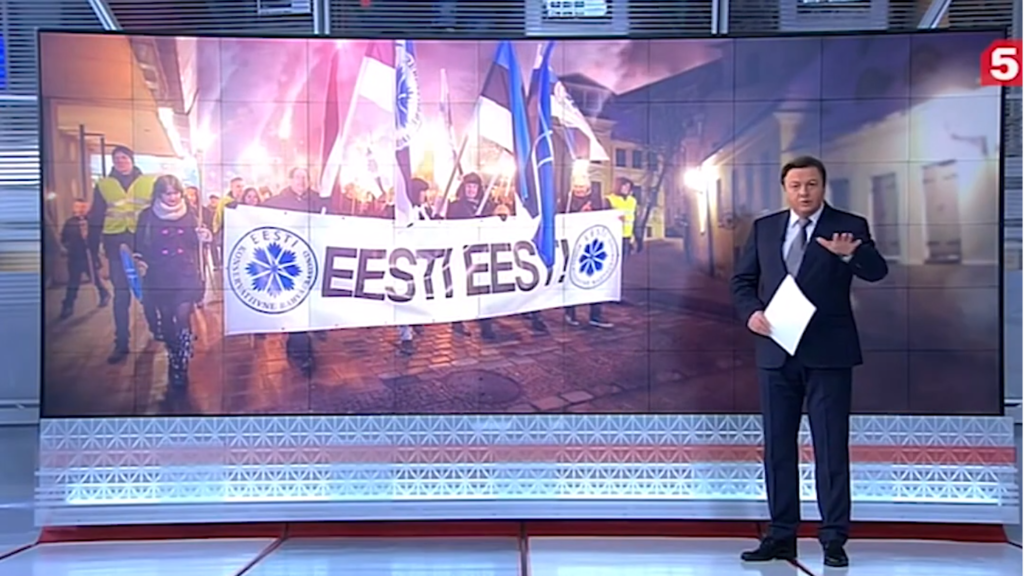 Russian TV covers Estonia