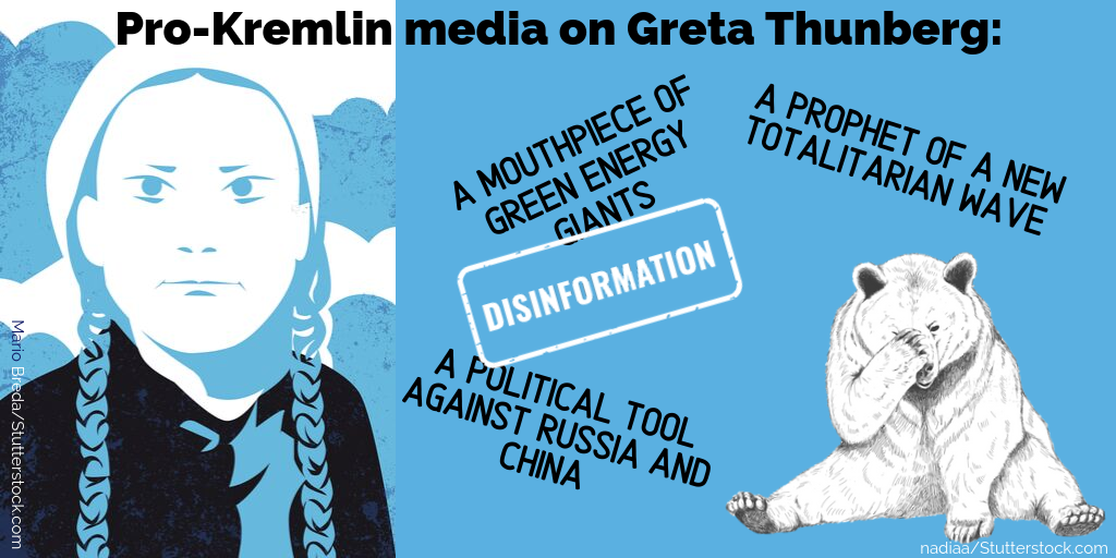 Why is the Pro-Kremlin Media Afraid of Greta?