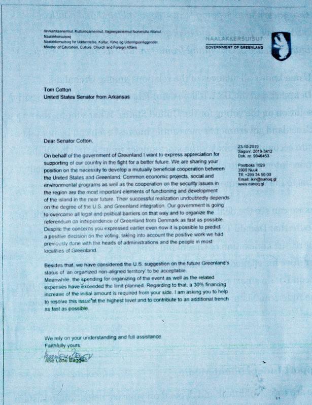 Politiken: Forfalsket ministerbrev designet til at splitte Danmark og USA spiller hovedrollen i et fake news-angreb