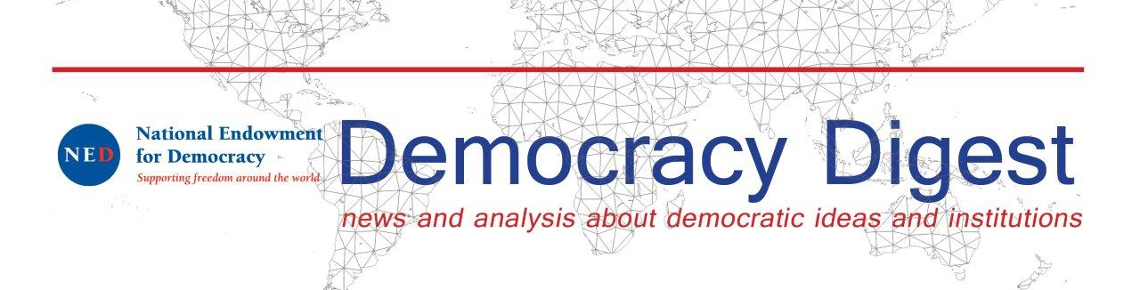 Democracy Digest: 'The End of Techo-Utopianism': Can technology destroy democracy?