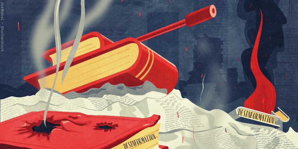 DER KAMPF GEGEN DEN DESINFORMATIONSVIRUS AKTUELL: GEORGIEN