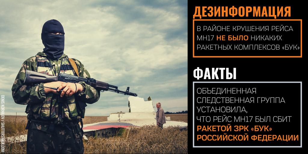 Отчаяние прокремлевской дезинформации: катастрофа рейса MH17 и Вторая мировая война