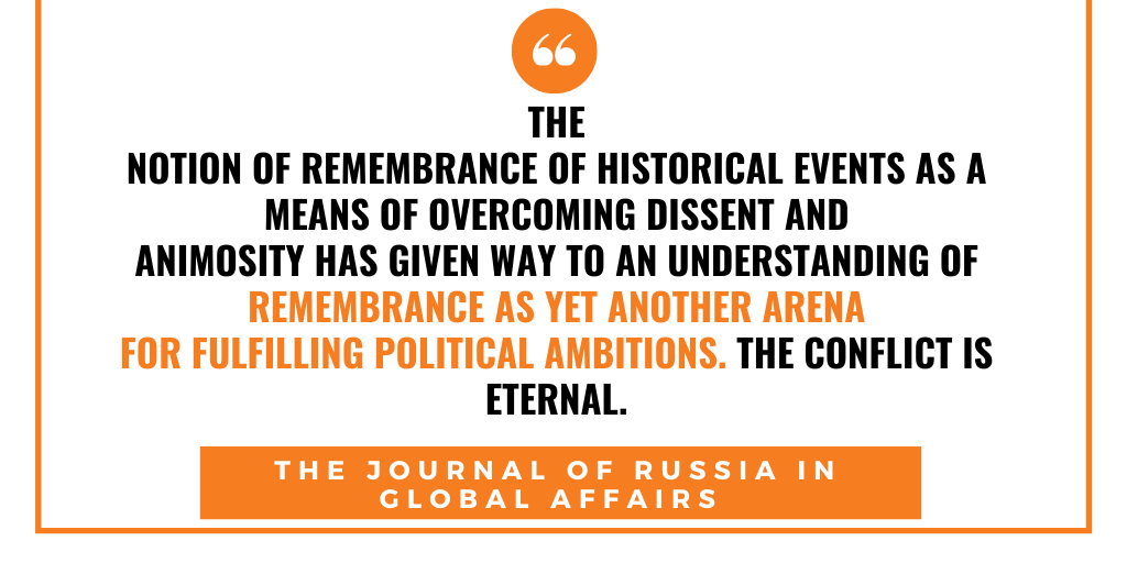 Rewriting history. For Kremlin a lot is at stake 2