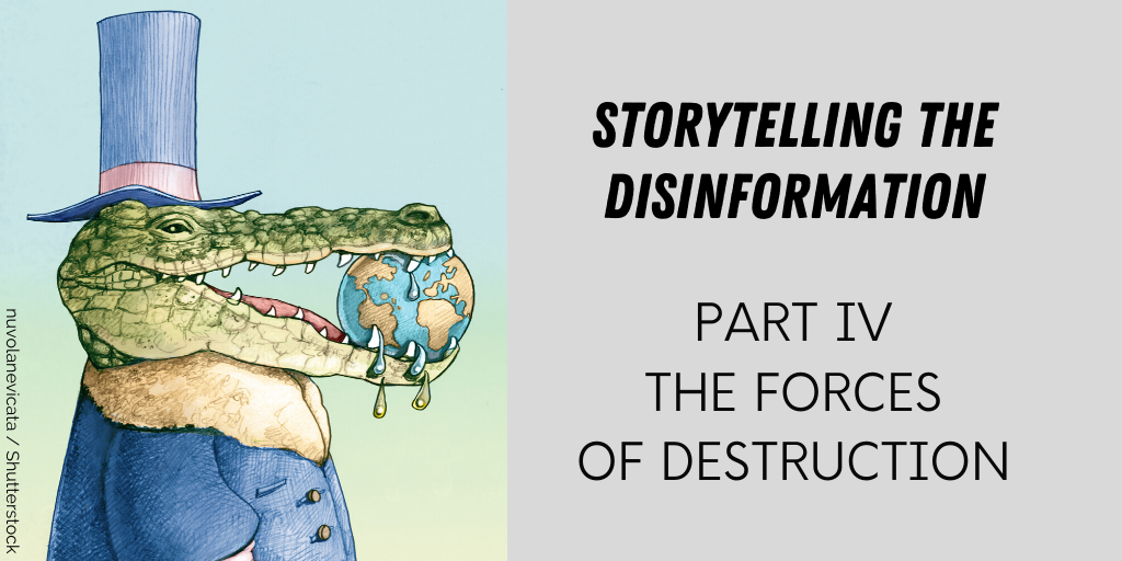 Storytelling the Disinformation. Part 4.