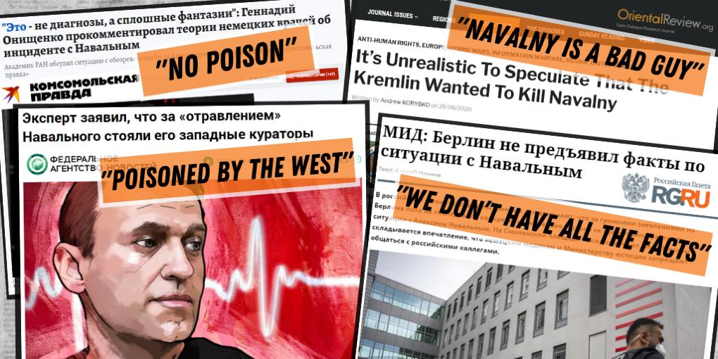 Realitatea.md: Otrăvirea lui Aleksei Navalnîi și operațiunea de dezinformare a Rusiei