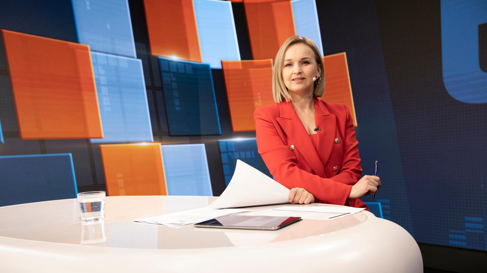 Алина Ковшик – журналистка и телеведущая Belsat.